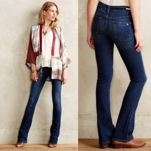 Anthropologie  Stet Dark Wash Bootcut Jeans 28